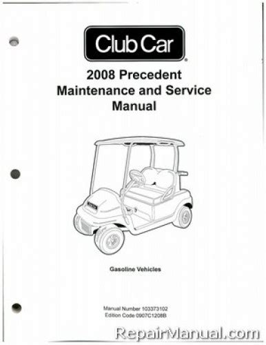 what is the best auto repair manual 2008 chrysler 300 engine control club car precedent gas golf cart maintenance service manual 2008