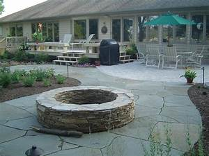 Fa hobson landscaping inc a design build company for Patio with firepit and grill