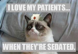 Happy Nurses Week! Grumpy Cat meme | Grumpy Cat RN ...