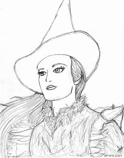 Broadway Coloring Pages Elphaba Wicked Thropp Deviantart