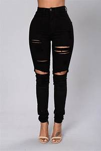 Best 25+ Black ripped jeans ideas on Pinterest | Black outfit grunge Outfits with jeans and ...