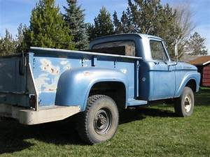 Solid 1961 Ford F