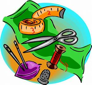 Clipart - Various sewing tools