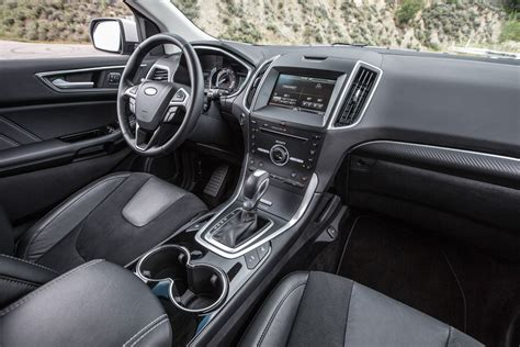 ford edge sport awd interior ford pinterest