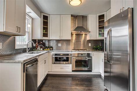 kitchen marble backsplash inspiration from kitchens with stainless steel backsplashes