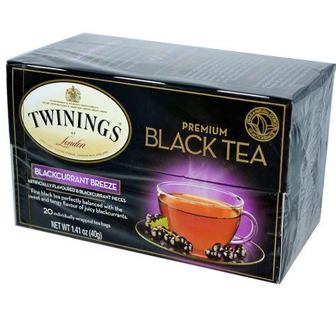 black tea twinings premium black tea blackcurrant breeze 20 tea bags 1 41 oz 40 g iherb com