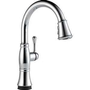 Clean Kitchen Faucet The Cassidy Single Handle Pull Kitchen Faucet With Touch2o Technology From Delta Faucet