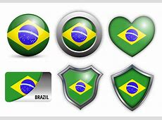 Free Brazil Flag Icons Vector Download Free Vector Art