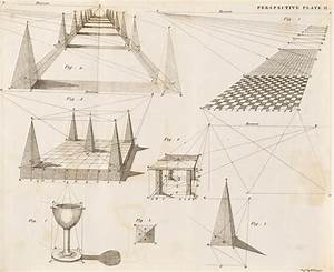 Perspective Diagrams  19th Century Photograph By Science Photo Library