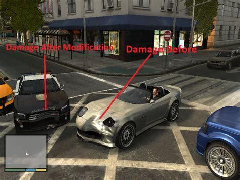 Gta 4 Gta V Vehicle Damage For Gta Iv Mod