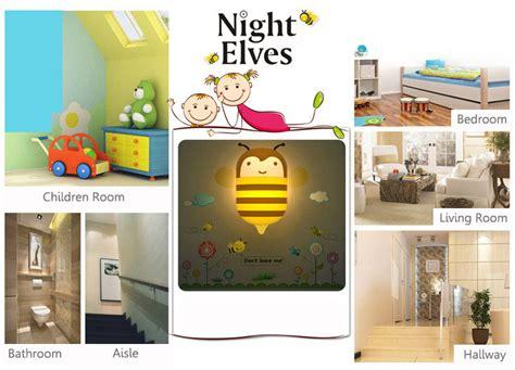 Children Room Decor Wall Sticker Led Energy Saving Night