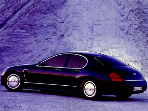 bugatti eb218 les concepts italdesign bugatti eb218 1999