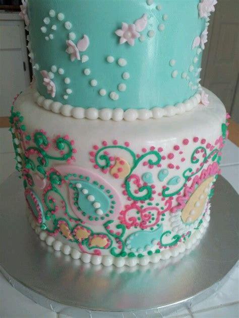 paisley cake decorations 2 tier paisley birthday cake birthday cakes