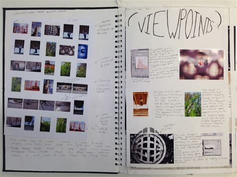 photography sketchbook examples