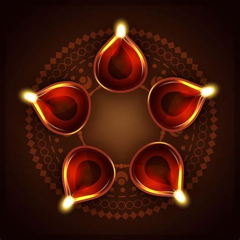 diwali background png  vector diwali tea light