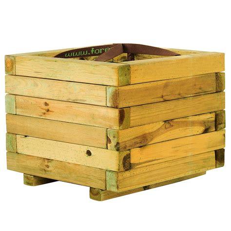 jardinera de madera baroque cuadrada ref 16137632 leroy