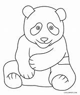 Panda Coloring Pages Printable Sheets Cool2bkids Children Worksheets sketch template
