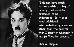 Famous quotes about 'Charlie Chaplin' - Sualci Quotes