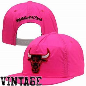 Mitchell & Ness Chicago Bulls Neon Snapback Hat NBA Store