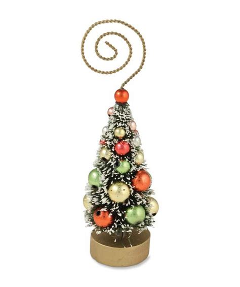 christmas tree place card holder ornament by bethany lowe