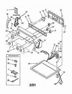 Kenmore Dryer Parts Manual