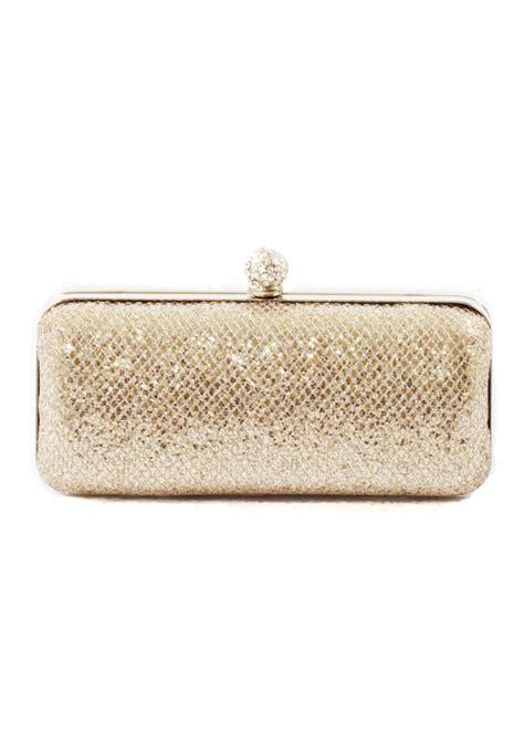 koko designer gold shimmering clutch bag koko designer