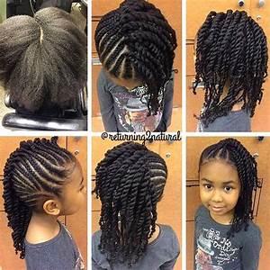 Coiffure Enfant Tresse : coiffure tresses nattes pour enfant afro afrodelicious salon pour modele de tresse africaine jpg ~ Melissatoandfro.com Idées de Décoration