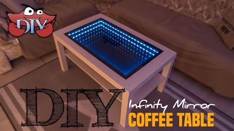 Diy Infinity Mirror Coffee Table Youtube