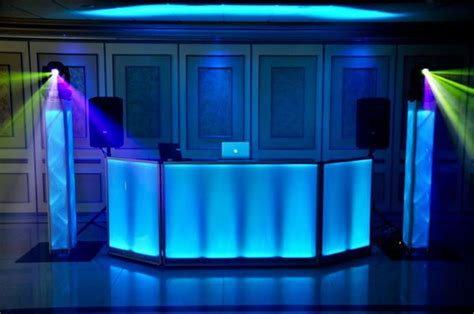 led dj booth event ideas rentals boston new york