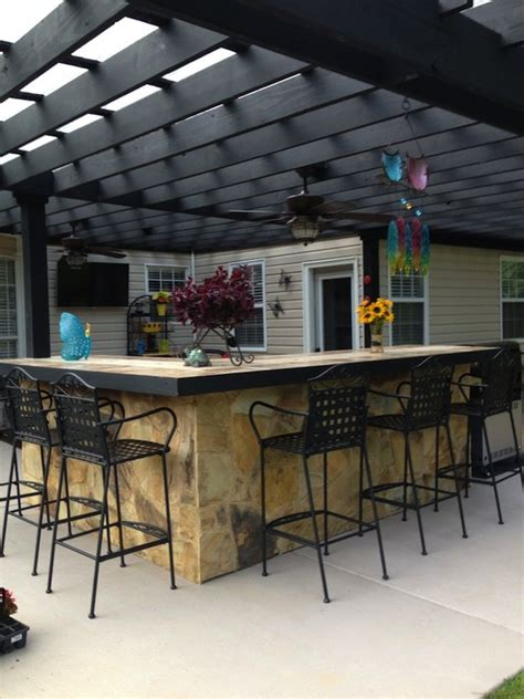 Large & Small Cool Outdoor Bars You'll Love Artisan