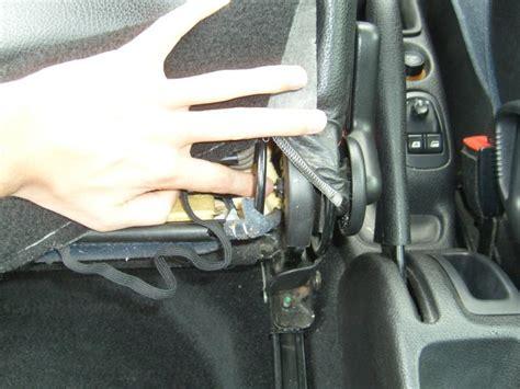 siege auto qui s incline 206 dossier du siège et manettes bloqués 206 peugeot