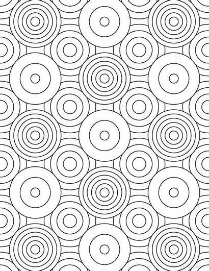 Coloring Pages Grown Geometric Patterns Pattern Adults