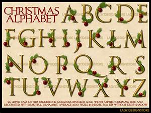 christmas alphabet 2d ladyj With holiday alphabet letters