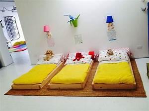 Lit Au Sol : 24 mod les de lit au ras du sol pour la chambre coucher des id es ~ Teatrodelosmanantiales.com Idées de Décoration
