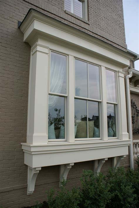 house bay windows window bump out house exterior pinterest window bay windows and outside window designs window