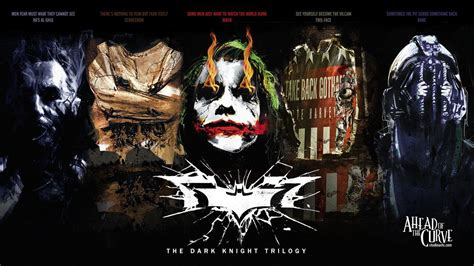 dark knight nemesis trilogy wallpaper including ras