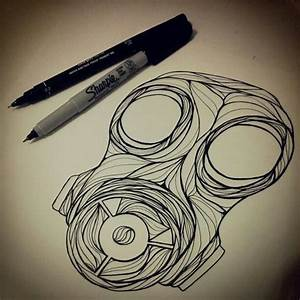 Gas mask drawing art illustration | Gas Mask Obsession ...