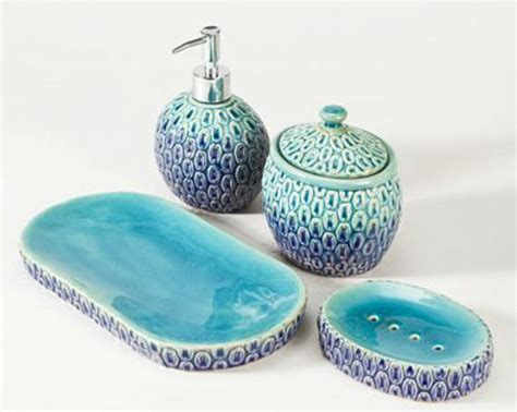 turquoise and gray bathroom accessories turquoise bathroom accessories to boost bathroom look