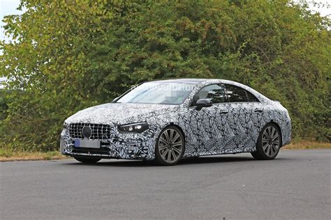 Its exterior conveys pure driving pleasure even when stationary. 2020 Mercedes-AMG CLA 45 Looks Aggressive With Quad ...