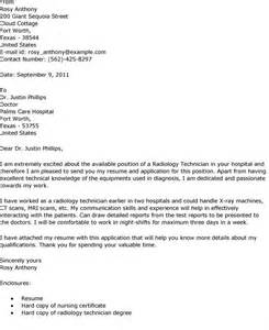 rad tech resume cover letter essay on x technician