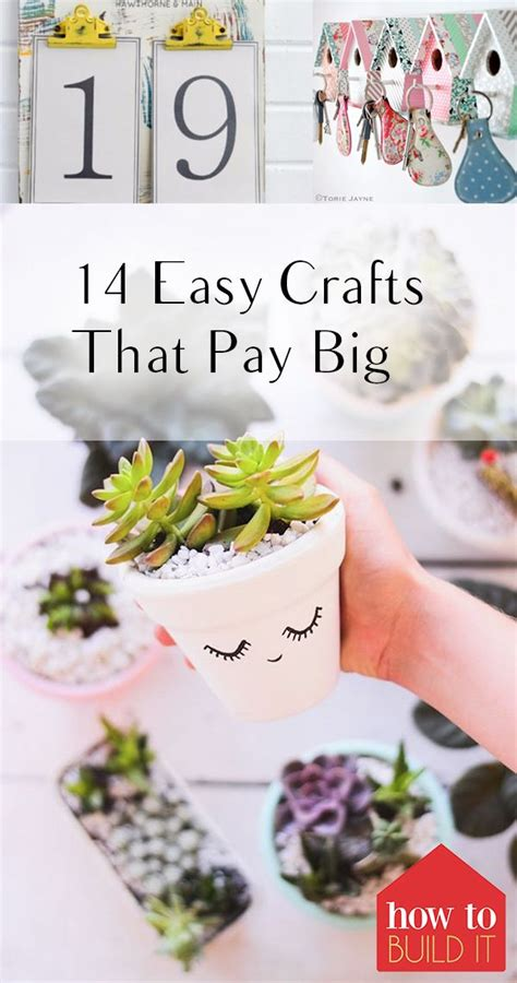 easy crafts  pay big crafts pinterest easy