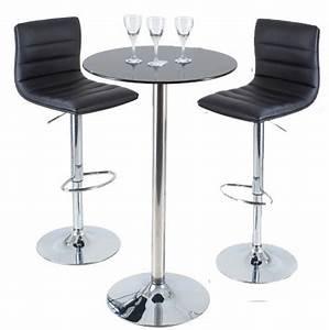 Table Haute Et Tabouret : tabouret de bar table ~ Teatrodelosmanantiales.com Idées de Décoration