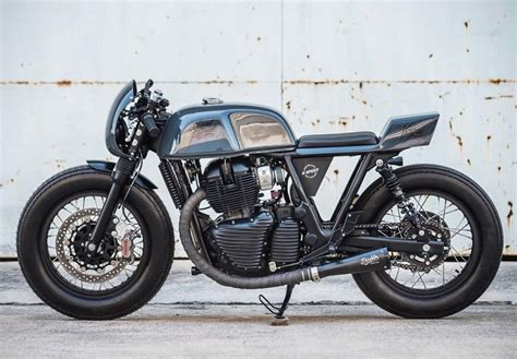 Royal Enfield Continental Gt 650 2019 by A Rocket For Sure Continental Gt 650 Custom Vayu At