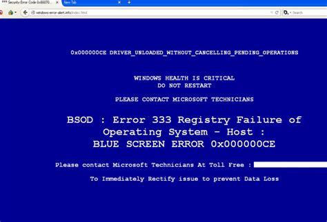 Avoid This Bsod Tech Support Scam Malwarebytes Labs