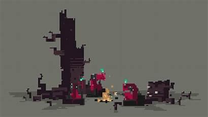 Pixel Irkalla Campfire Animation Games Gifs Thief