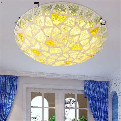 modern mediterranean sea glass ceiling lights fancy