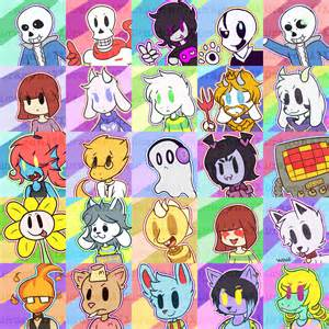 Undertale as All Characters