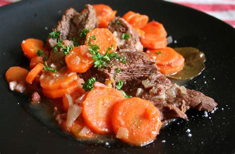 boeuf bourguignon carottes