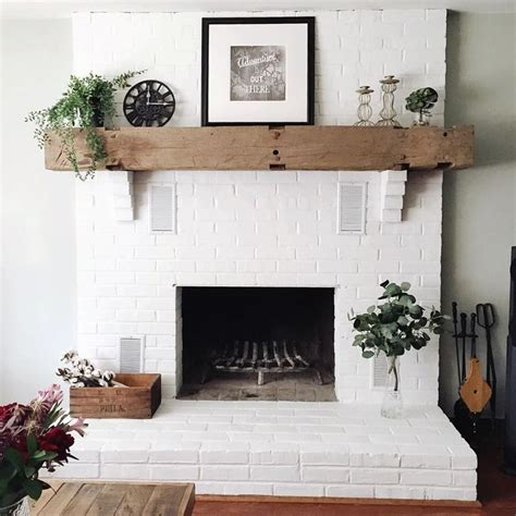 white fireplace paint best 25 painted brick fireplaces ideas on