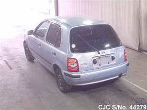 Nissan Micra 2001 : 2001 nissan march blue for sale stock no 44279 japanese used cars exporter ~ Gottalentnigeria.com Avis de Voitures